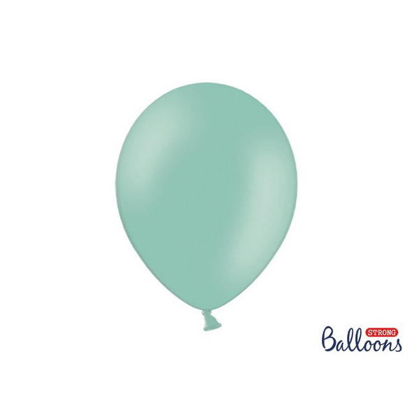 100 Strong Balloons 30cm. Pastel Mint Green 100 pcs.