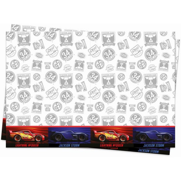 Cars The Legend Of The Track 1 Plastic Tablecover 120x180cm