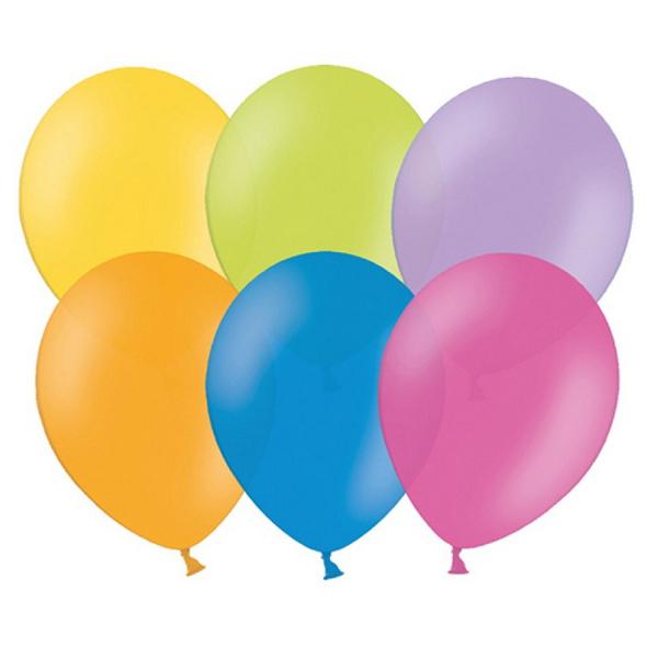 Latexballon 100er Pack pastell bunter mix 30cm