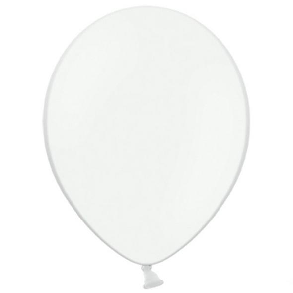 Latexballons 100er Pack pastell weiss 30cm