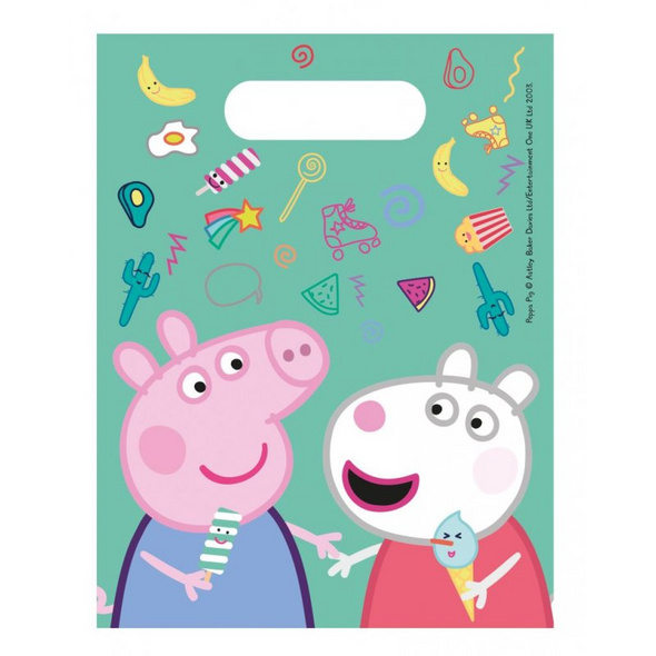 Peppa Pig Messy play 6 Party bags