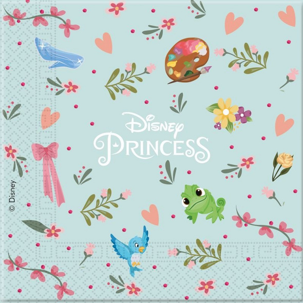 Princess Dare To Dream 20 Two-Ply Paper Napkins 33x33cm