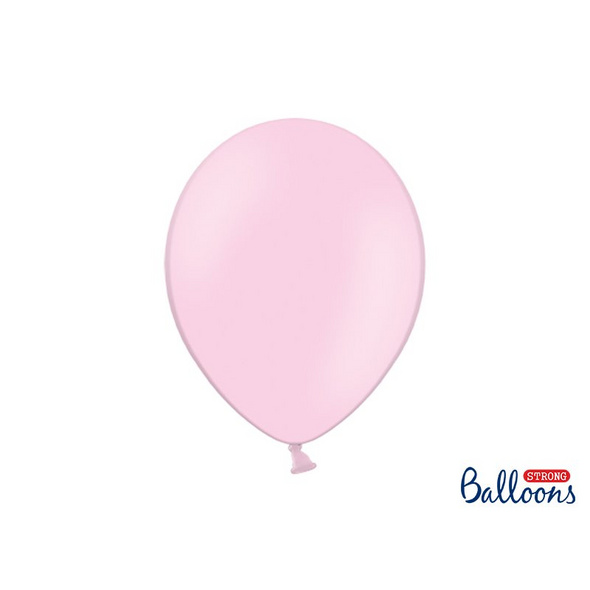 Strong Balloons 30cm. Pastel Baby Pink. 10pcs