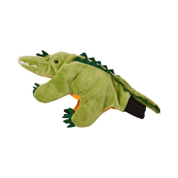 WILD GUYS Handpuppe Krokodil