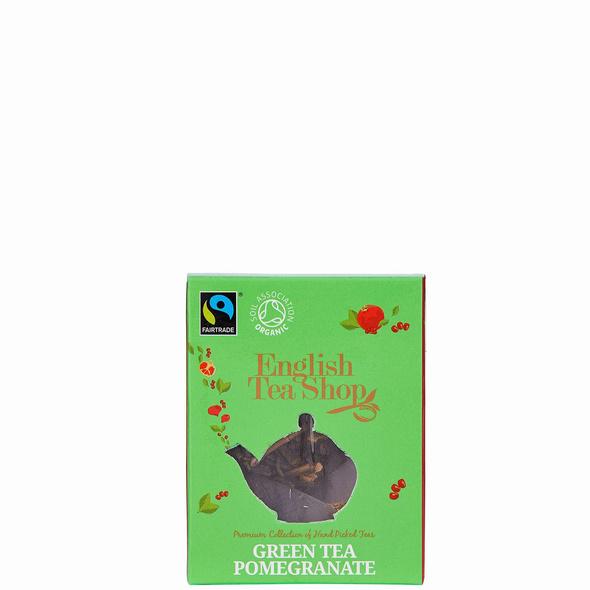 ENGLISH TEA SHOP Grüner Tee Granatapfel