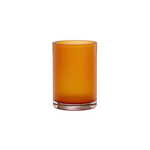 DELIGHT Teelichthalter orange