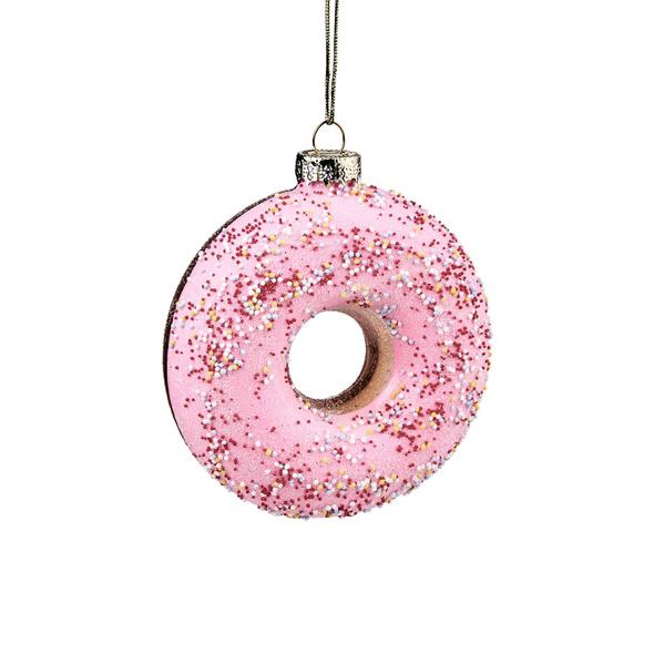 HANG ON Glas Donut pink 10cm