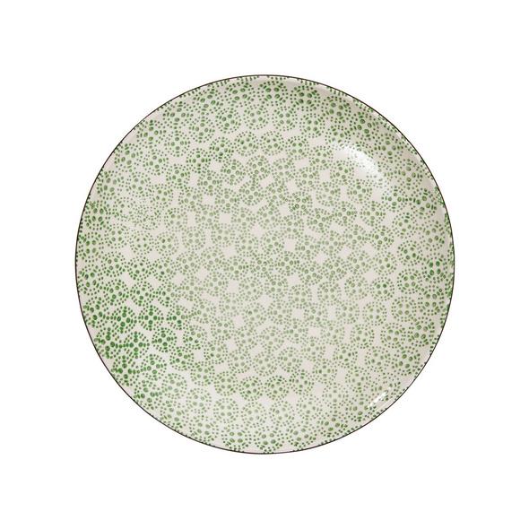 RETRO Essteller Ø 26,4 cm grün