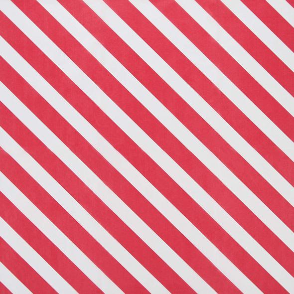 SURPRISE Seidenpapier rot/weiss Streifen