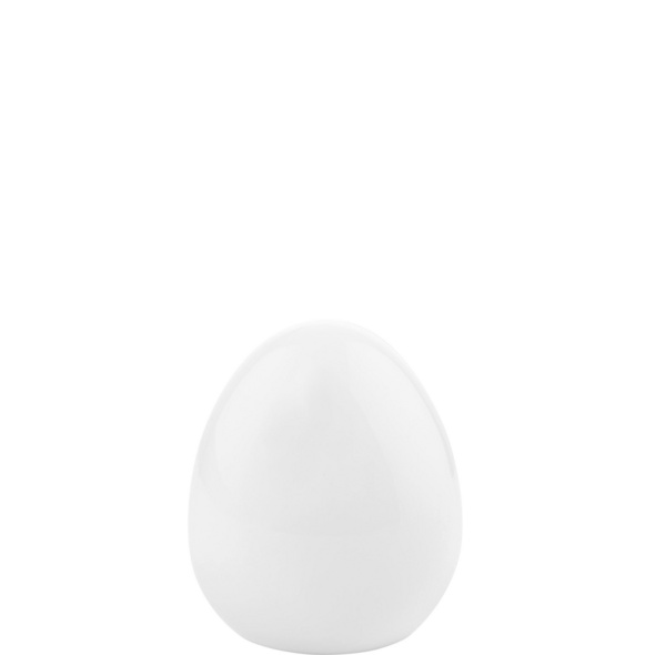 EASTER Keramik Ei 7cm, weiß