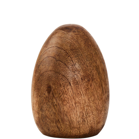 EASTER Deko Ei aus Mangoholz 10cm