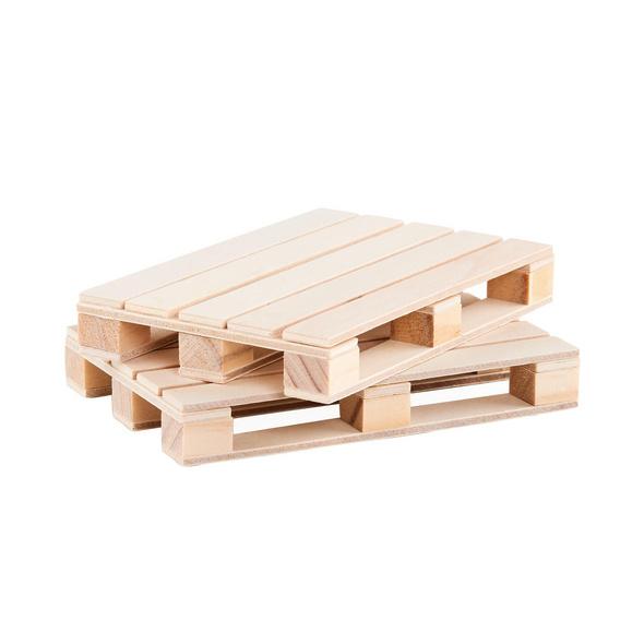 WAREHOUSE Holz- Paletten Untersetzer