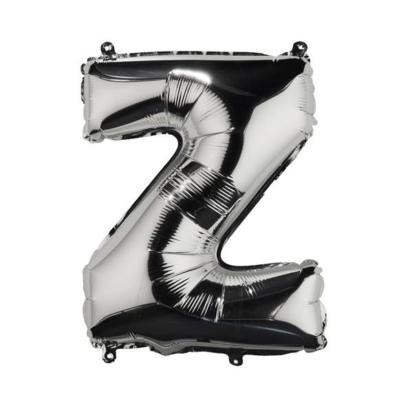 """UPPER CLASS Folienballon silber """"Z"""""""