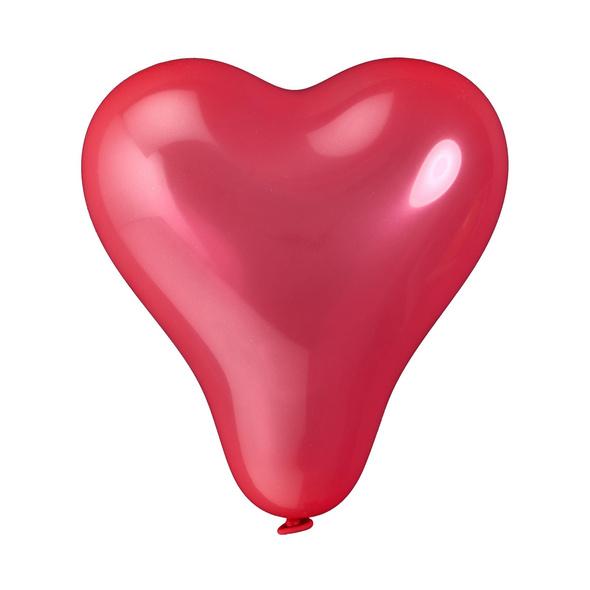 UPPER CLASS 10er Ballon Set Herzen rot