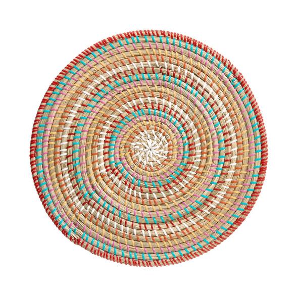 RONDA Tischset Seegras multicolor