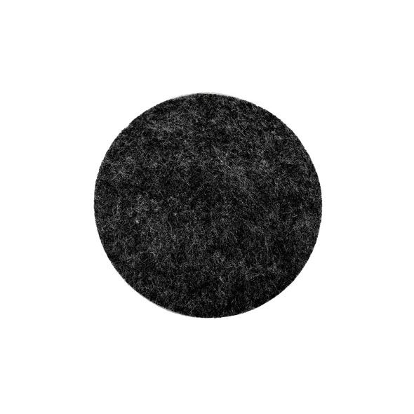 FELTO Untersetzer 10 cm schwarz melange