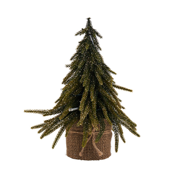 TREE OF THE MONTH Gold Finish m.LED 28cm