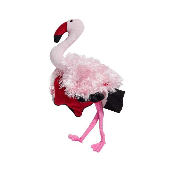 WILD GUYS Handpuppe Flamingo