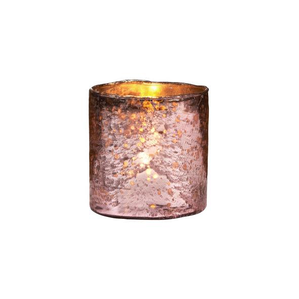 DELIGHT Glas-Votive 8 cm, rosa