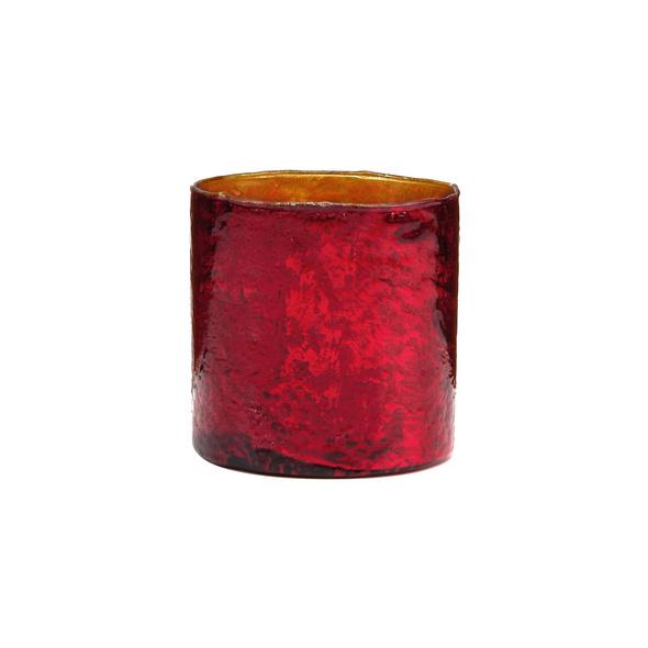 DELIGHT Glas-Votive 8 cm, rot