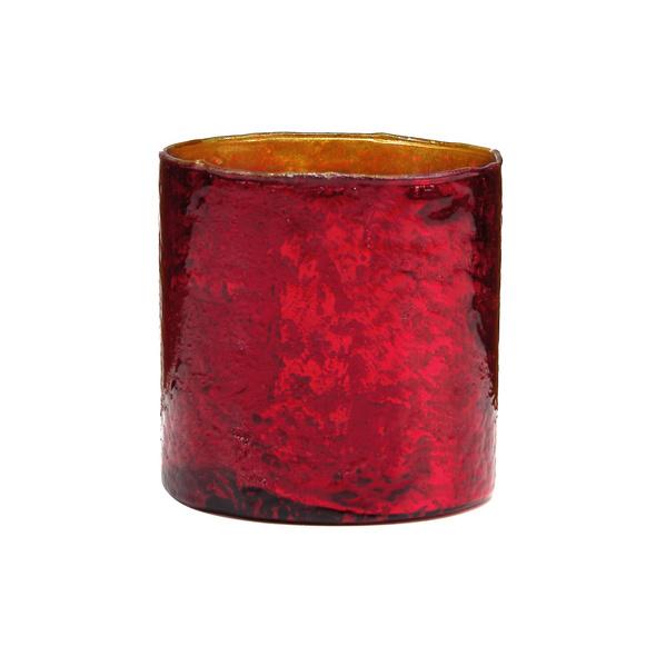 DELIGHT Glas-Votive 11 cm, rot