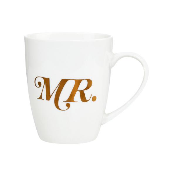 MR.& MRS. Tasse Mr., gold