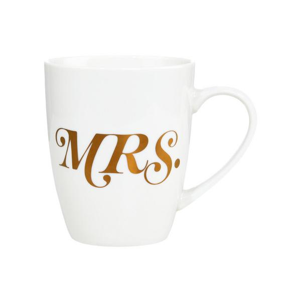 MR.& MRS. Tasse Mrs., gold