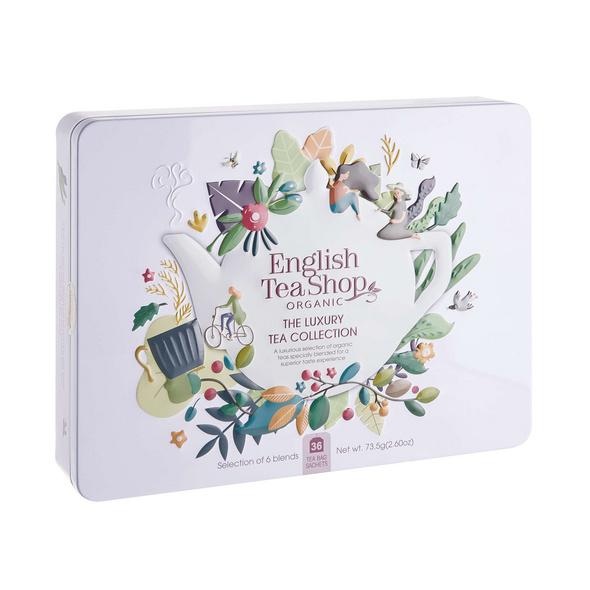 ENGLISH TEA SHOP Teebox 36tlg. weiß