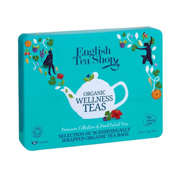 ENGLISH TEA SHOP Teebox 36 tlg,türkis