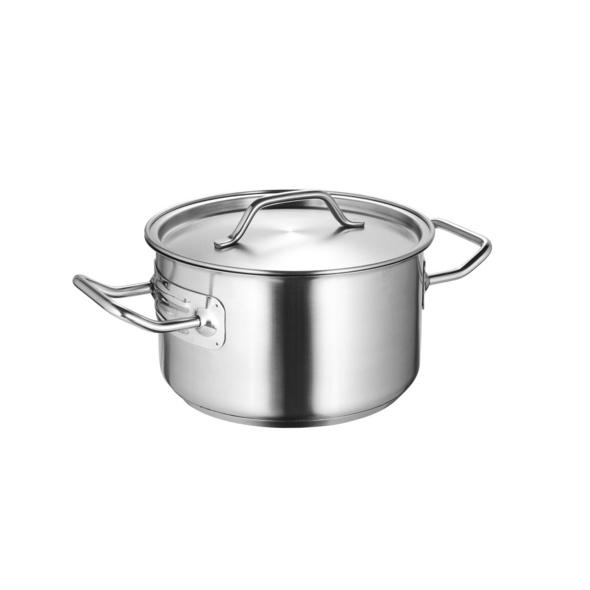 SOUL COOKING Edelstahltopf Ø18cm 2,6 l