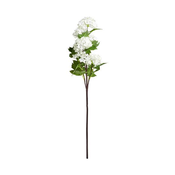 FLORISTA Schneeballzweig 60cm weiß