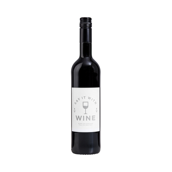 SAY IT WITH WINE Rotwein BarrIque