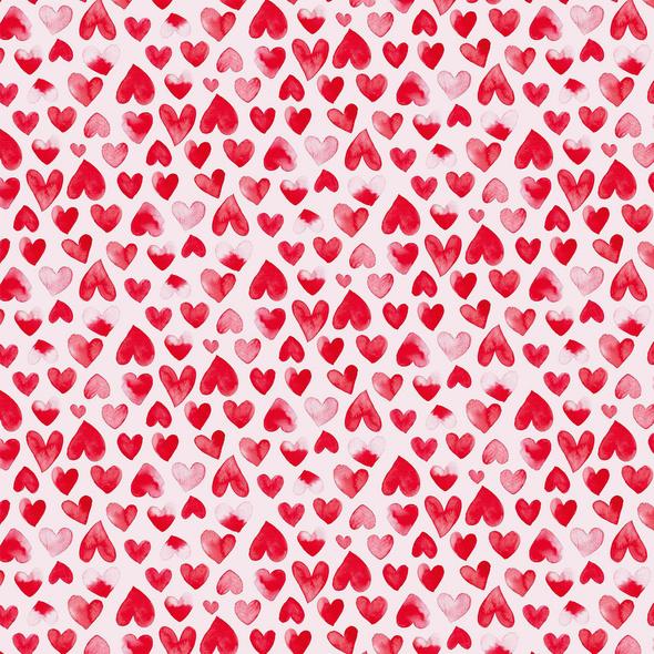 SURPRISE Geschenkpapier Herzen