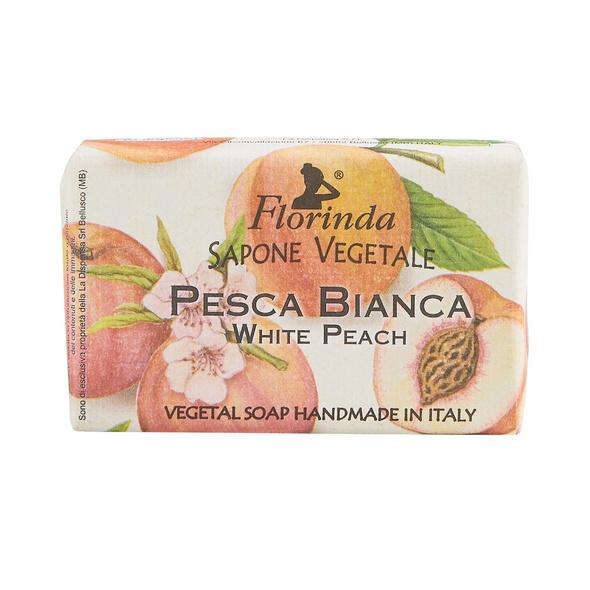 """FLORINDA Seife """"White Peach"""" 50g"""