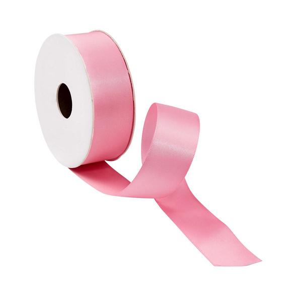 SATIN Geschenkband 5m x 25mm rosa