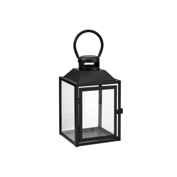 LIGHTHOUSE Laterne 24cm, schwarz