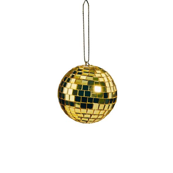 MINI DISCO Spiegelball 5cm gold