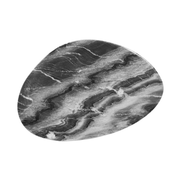 MARBLE Marmorplatte grau