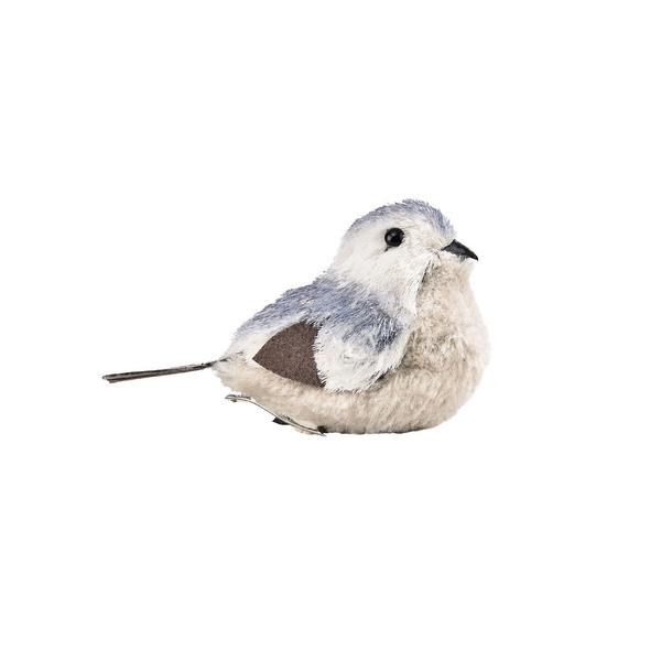 BIRDY Vogel mit Clip hellblau