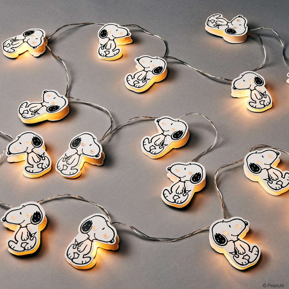 PEANUTS LED Papierlichterk. Snoopy, 20L