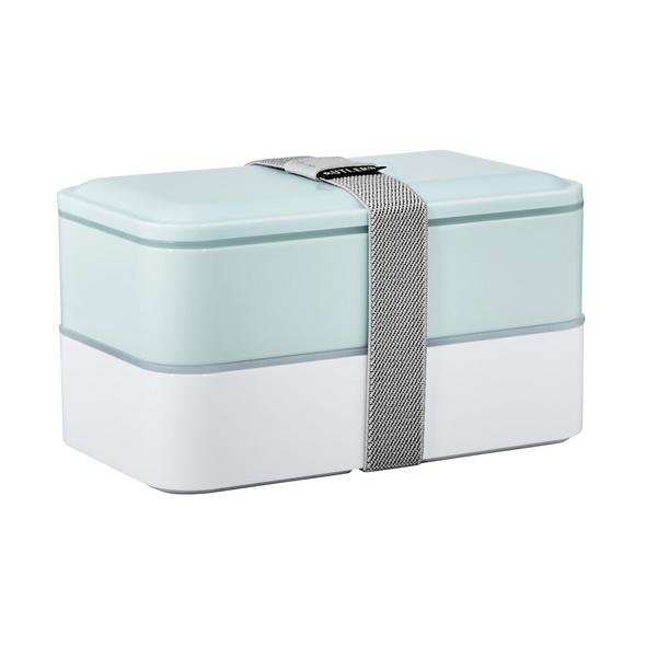 SNACK PACK Lunchbox inkl Besteck blau