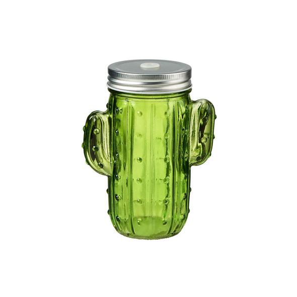 CACTUS Glas Kaktus ohne Strohhalm