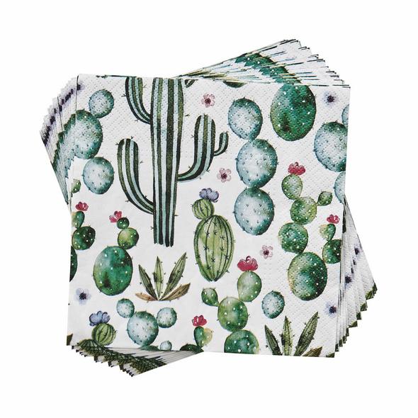 APRÈS Papierserviette Kaktus