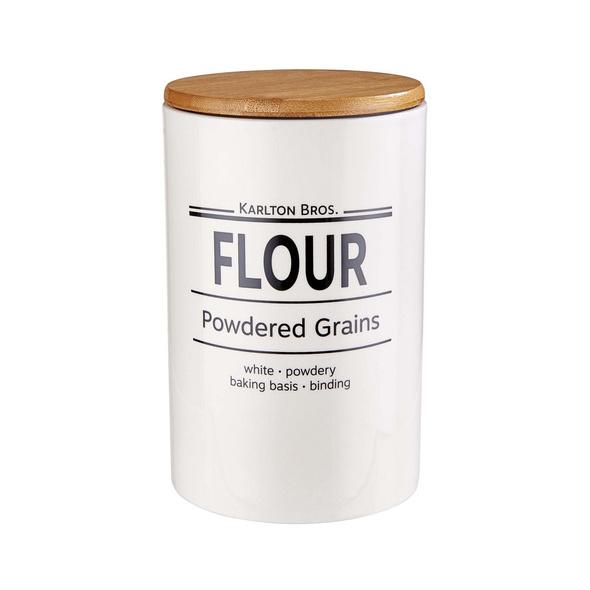 KARLTON BROS. Vorratsdose Flour 1,1l