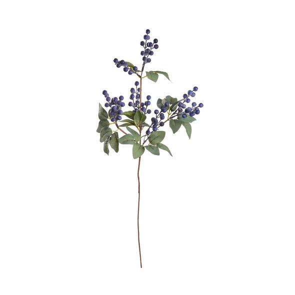 FLORISTA Schlehenzweig 60cm,lila
