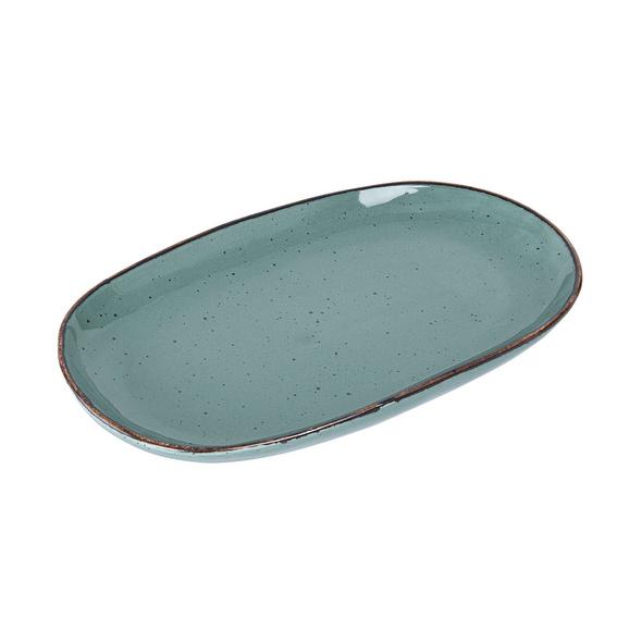 FINCA Servierplatte blau