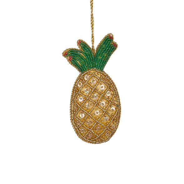 HANG ON Perlen Ornament Ananas