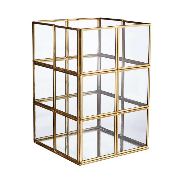 SHOWROOM Windlicht H24cm, gold