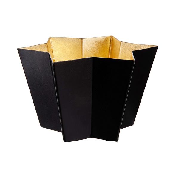 AURORA Teelichthalter Metall Stern 15cm