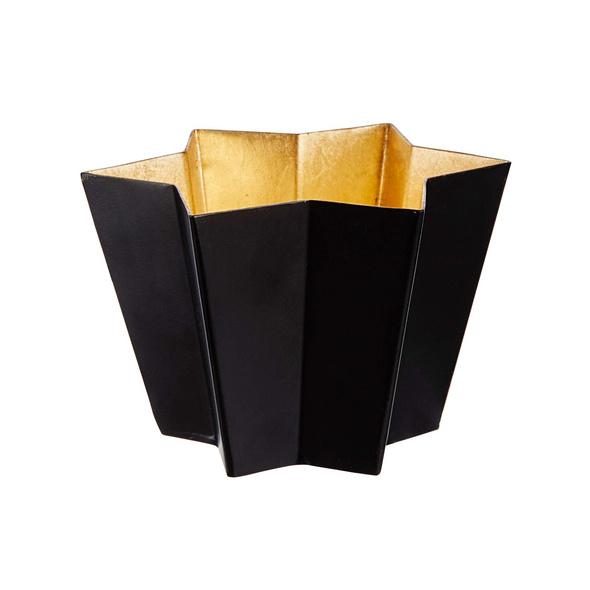 AURORA Teelichthalter Metall Stern 12cm